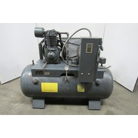 Trexler Model 340 7-1/2Hp 2 Stage Air Compressor 200 Gallon 208-230/460V 25 CFM