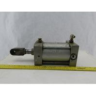"SMC NCA1J400-0400 Air Pneumatic Cylinder 4"" Bore 4"" Stroke 250 PSI"