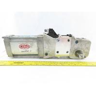 Destaco 82M-7D63C80-NA 15-120° Power Clamp Actuator Dual Shaft