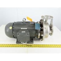 Scot Pump 3413K103 10Hp 2x1.5 208-230/460V Stainless Steel Centrifugal Pump