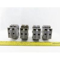 Entrelec MB10/22S 2 Pole Fuse Holder 750-800V Lot of 4