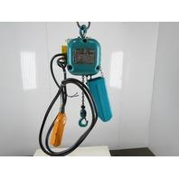 Hyundai HC-H025 0.25 1/4 Ton 500 Lbs 12' Lift 8.7m/min 220V Electric Chain Hoist