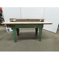 """Ritter R700 Horizontal Wood Finishing Edge Sander 2Hp 3Ph 230/460V 4""""x132"""" Belt"""