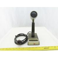 Shure Vintage Public Address PA System School Principal Style Microphone