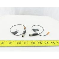IFM MK5328 C-Slot Cylinder Sensor 10-30VDC 100mA Lot of 2