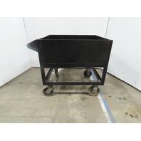 "Custom 35"" x 29-1/2"" x 12"" Deep Rolling Basin Parts Bin Utility Cart Industrial"