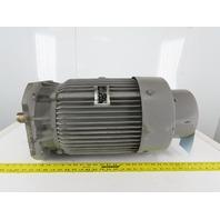 Fuji MPF2165G 11kW 200V 50/200Hz 1500/6000RPM Dual Speed Induction Motor 160M