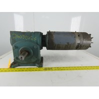 "VBM3558T Gear Motor 30:1 Ratio 57.5RPM 208-230/460V 3Ph 1-1/2"" Shaft"