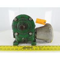 "Hytrol Gear Box Speed Reducer 20:1 Ratio 3/4"" In 1"" Output Shaft"