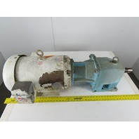 Baldor CWDH23933T Washdown Motor W/5:1 Ratio Speed Gear Reducer 230/460 3Ph