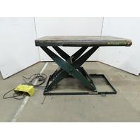 "Southworth 1500LB Hydraulic Scissor Lift Table 24x48"" 115/120V Single Phase"