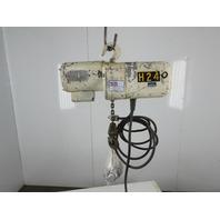 Coffing JF861-4 1/4 Ton 115V 1Ph 64FPM 18'Lift Electric Chain Hoist Single Phase