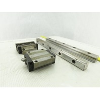 2pc NSK Linear Bearings Rail LS25 33 Inches Long CNC Slide for sale online