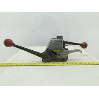 """Signode AL-12 Banding 1/2"""" Strap Manual Ratchet Tensioner Crimper Seal Loader"""