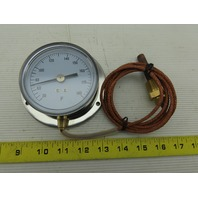 Grainger 12U636 30-180°F Analog Panel Mount Thermometer