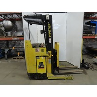 """Hyster N30XMR2 1999 Electric Stand-On Forklift 3000Lb Capacity 3625Hrs 42"""" Forks"""