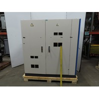 "73 x 64 x 30"" Electrical Enclosure Cabinet 2 Door W/ Side Compartment"