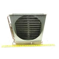 "Super Radiator Coils 13"" x 11"" x 2-1/2"" Thick Fin Heat Exchanger 2 Pass 10 FPI"