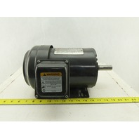 Dayton 3KW91G 1Hp 1745RPM 3Ph 208-230/460V 143T Frame Electric AC Motor TEFC