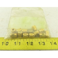 4mm Brass Compression Nuts Lot Of 12
