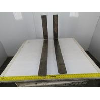"Kenhar K-547 4"" x 36"" Forklift Forks For 16"" Rack Cam Latch Style Pair Class 2 II"