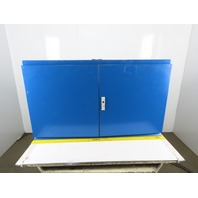 "27x47x14"" Electrical Enclosure Double Door W/ Back Plate"