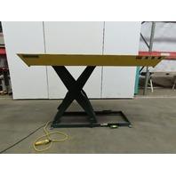 "Southworth LS4-48 4000Lb Hydraulic Scissor Lift 96x 42"" Table 115V Single Phase"