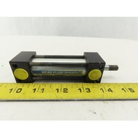 """Mead DM-075x2-FB Pneumatic Air Cylinder 3/4"""" Bore 2"""" Stroke Double Acting"""