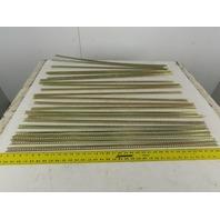 "Allen Bradley 1492-N1 Electrical 6.9mm A-B DIN Rail 1 Meter 36"" Lot Of 22"