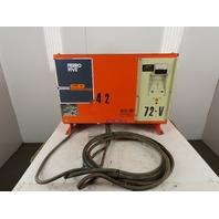 C&D FR36HK750M Forklift Battery Charger 72V 135A Output 208-230/460V 3Ph Input
