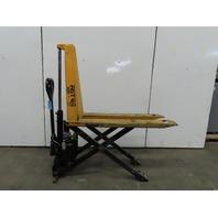 """Lift Rite 2200 Lb 12VDC Electric/Manual Hand Pump 31"""" lift Scissor Pallet Jack"""