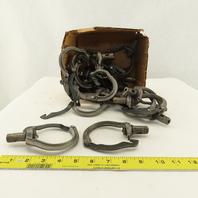 """2"""" Pipe Hanger Adjustable Swivel Split Ring Type 3/8 Threaded Lot Of 20"""
