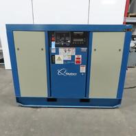 Quincy QSI245ACA31EE 50Hp 230/460V Rotary Screw Air Compressor 62209 Hrs. 242CFM