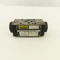 Parker CPOM2DDN 5000 PSI Hydraulic Sandwich Check Valve