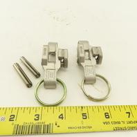 Dixon RHEZ34 Cam & Groove Handle Coupling Lock Lot Of 2