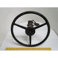 """Clark 12200-00 15"""" Steering Wheel W/ column that's 15"""" long"""