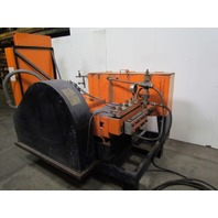 NLB Corp 8200E-1-3/8 200HP 8000 PSI UHP Water Blaster 460V Water Jet Cleaning