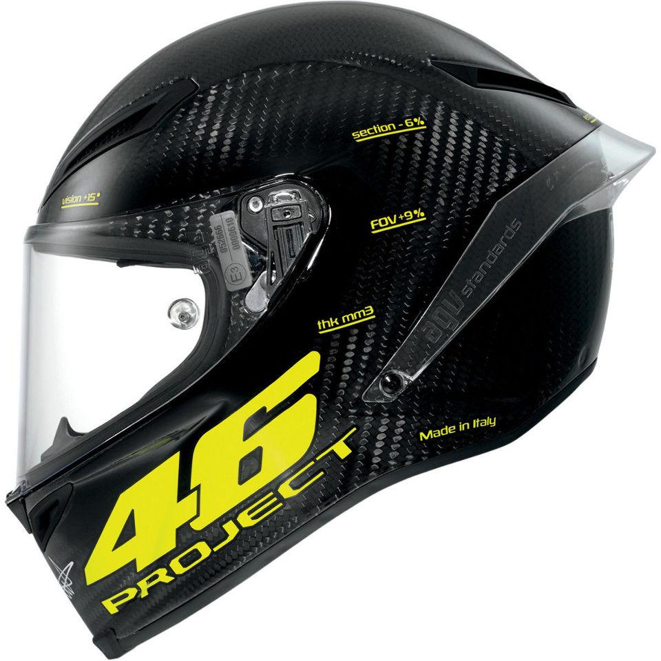 Carbon Fiber Motorcycle Helmet >> AGV Pista GP Project 46 carbon fiber fullface motorcycle ...