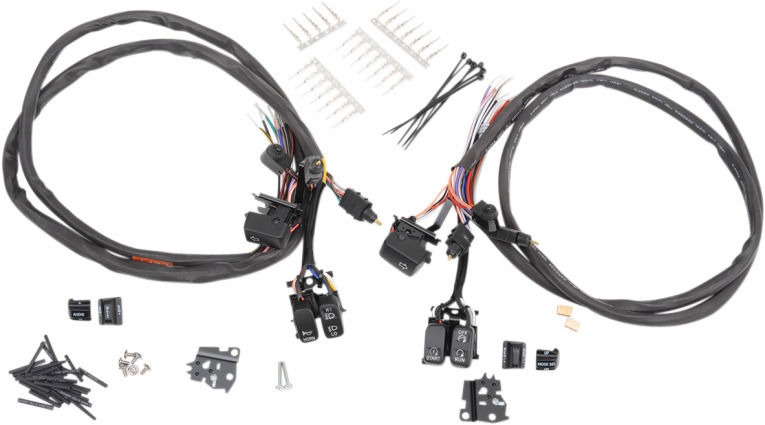 drag specialites led black control switch kit 07