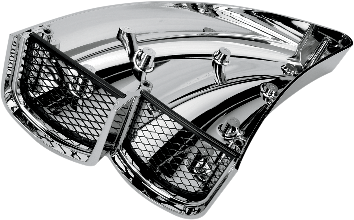 Harley Davidson Performance Air Cleaner : Arlen ness chrome double barrel air cleaner harley