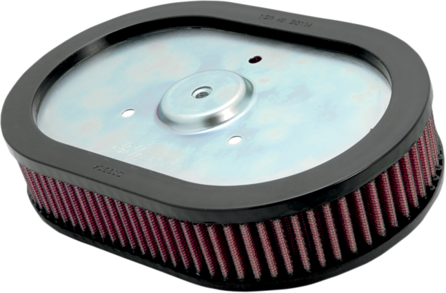 High Flow Air Cleaner Harley : K n high flow red replacement motorcycle air filter harley