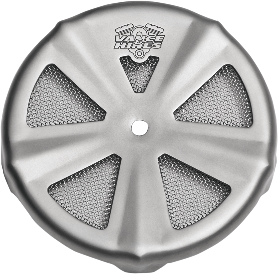 Skull Air Cleaner Cover : Vance hines chrome skull air cleaner cover yamaha
