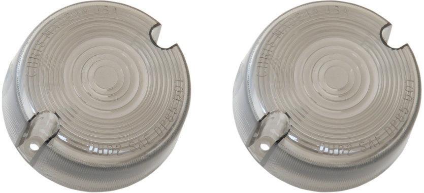 Harley XL Sportster Smoked Turn Signal Lens Sportster 1986-2001 883 1100 1200