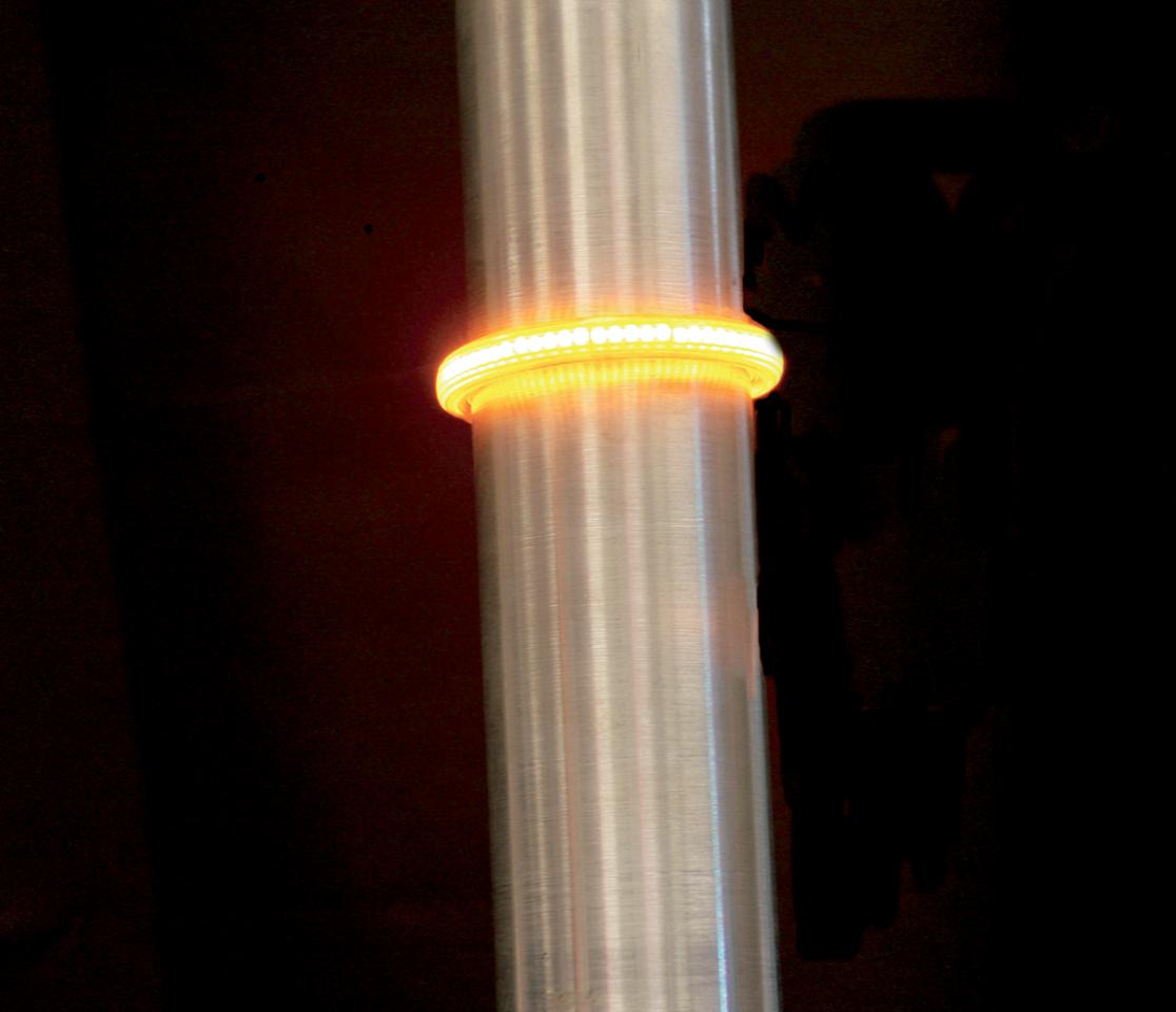Custom Dynamics Truwrapz 49mm Amber LED Fork Light Kit