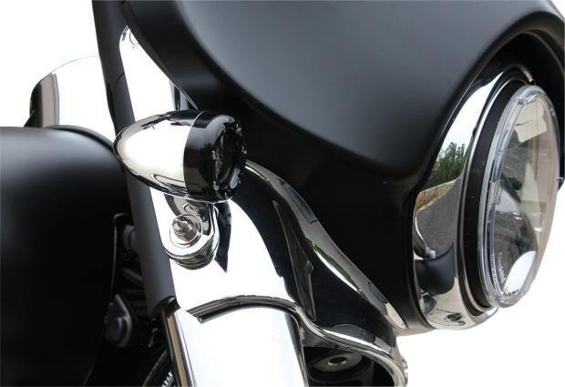 Custom Dynamics Amber Led Bullet Motorcycle Turn Signals