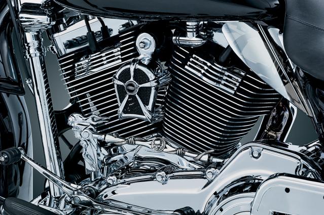 Kuryakyn Chrome Motorcycle Spark Plug Covers 99