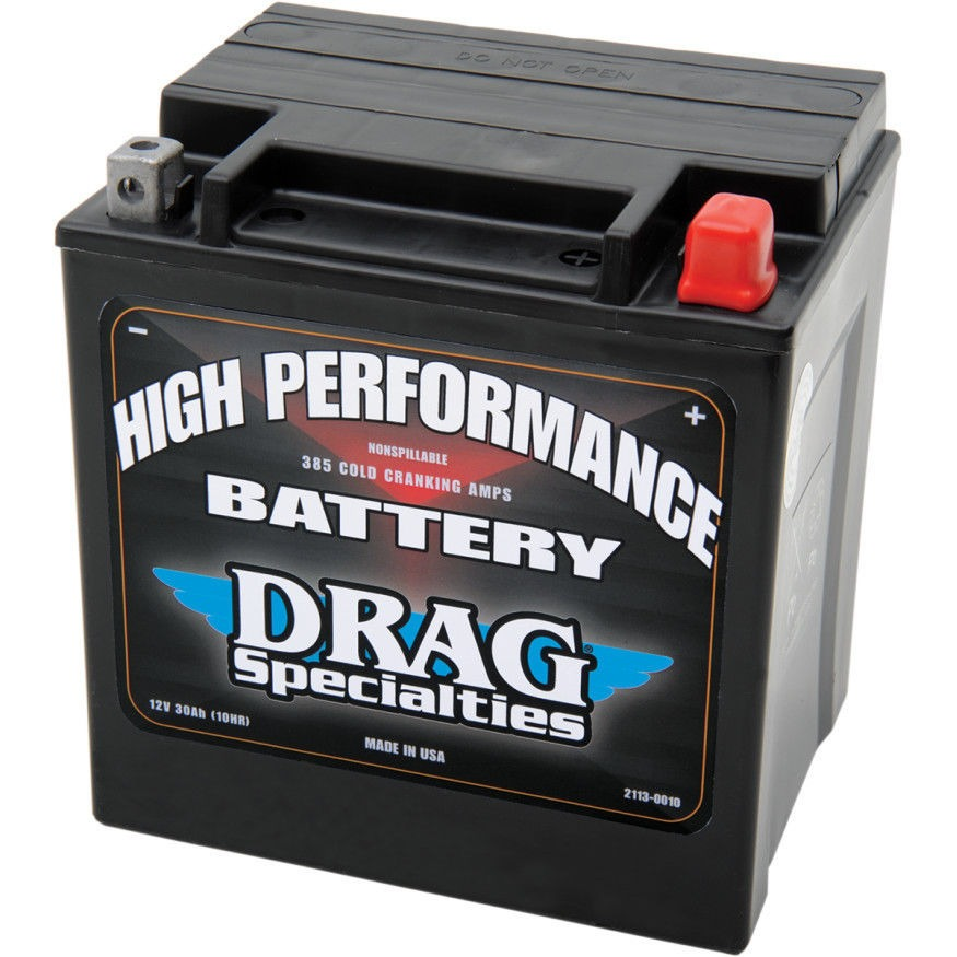 drag specialties battery harley davidson touring 69 16 flt flht fltr flhr ebay. Black Bedroom Furniture Sets. Home Design Ideas