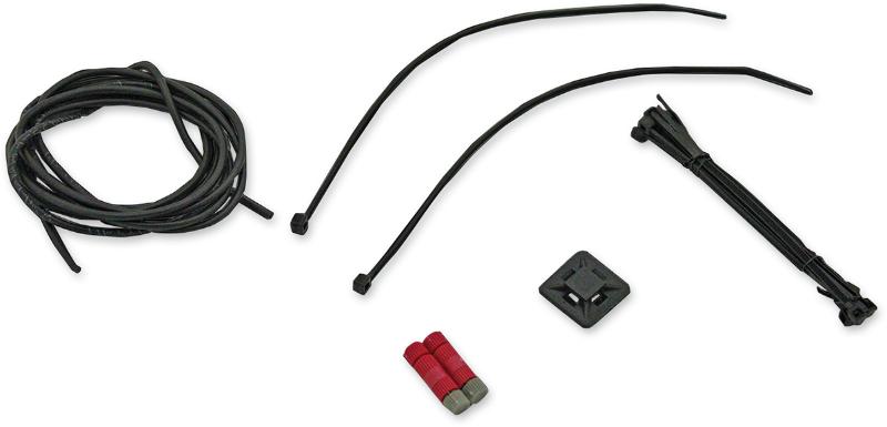 custom dynamics front fender tip wiring kit 14