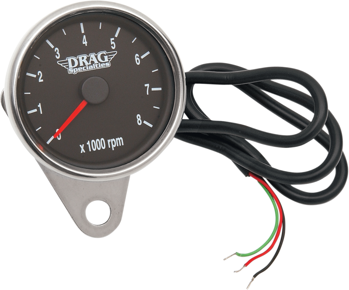 Drag Specialties Tachometer Wiring Diagram 42 Harness 22110031 Polished Black Face 24 Electronic Cobra