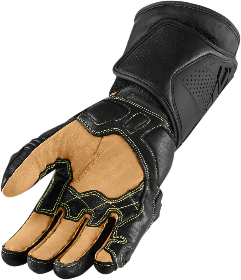 Motorcycle gloves singapore - Icon Hypersport Mens Gloves